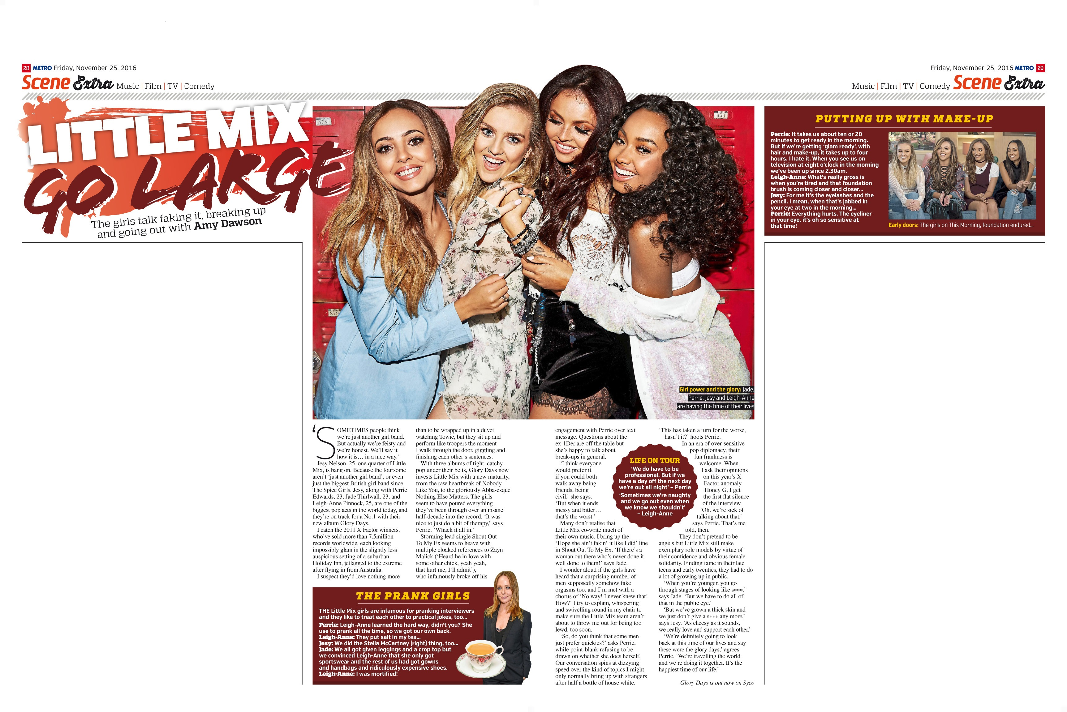 Little Mix Go Large (Metro, 26th Nov 2016)