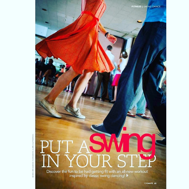 Put A Swing In Your Step (Top Sante, Dec 2017)
