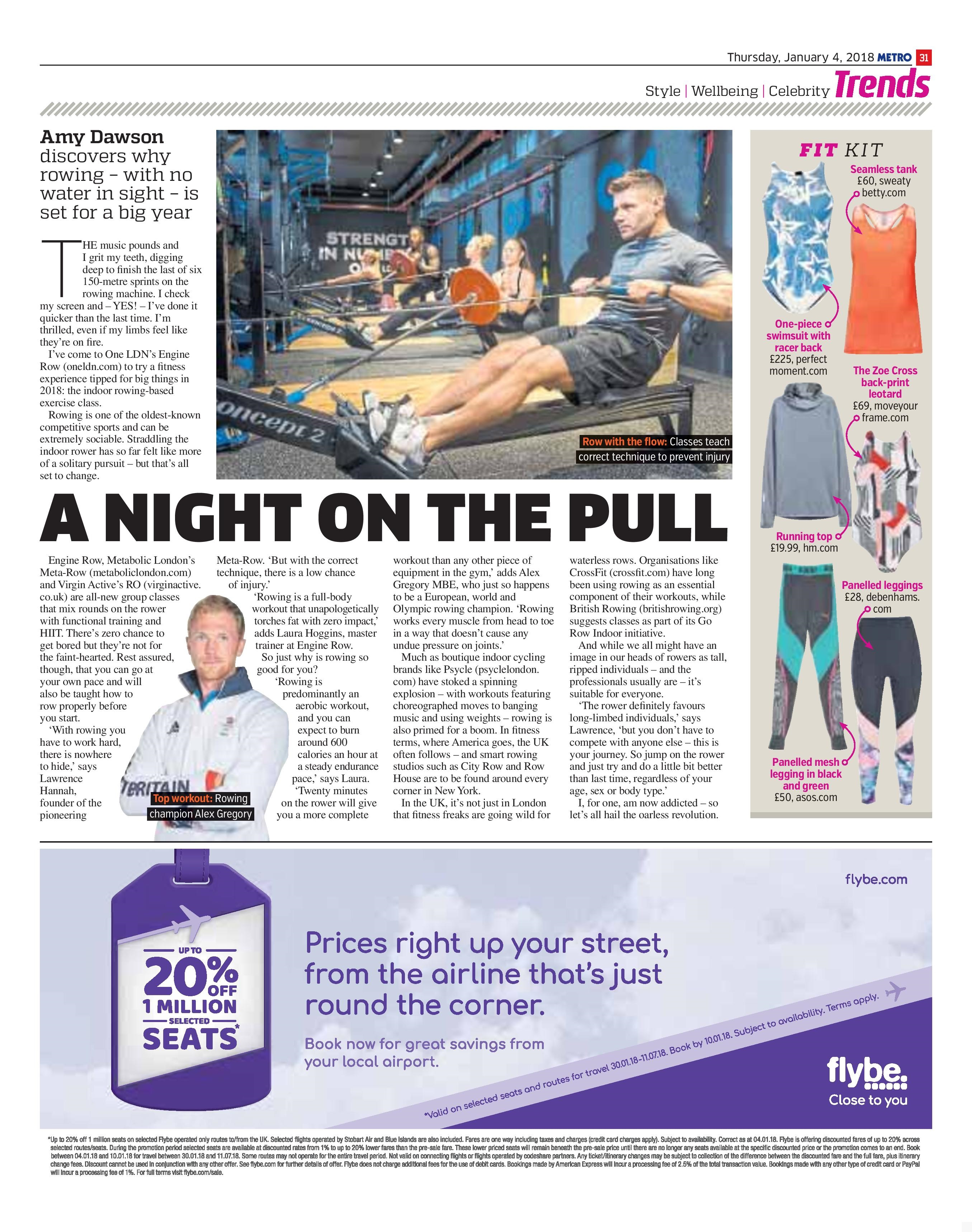 A Night On The Pull (Metro, 4th Jan 2018)