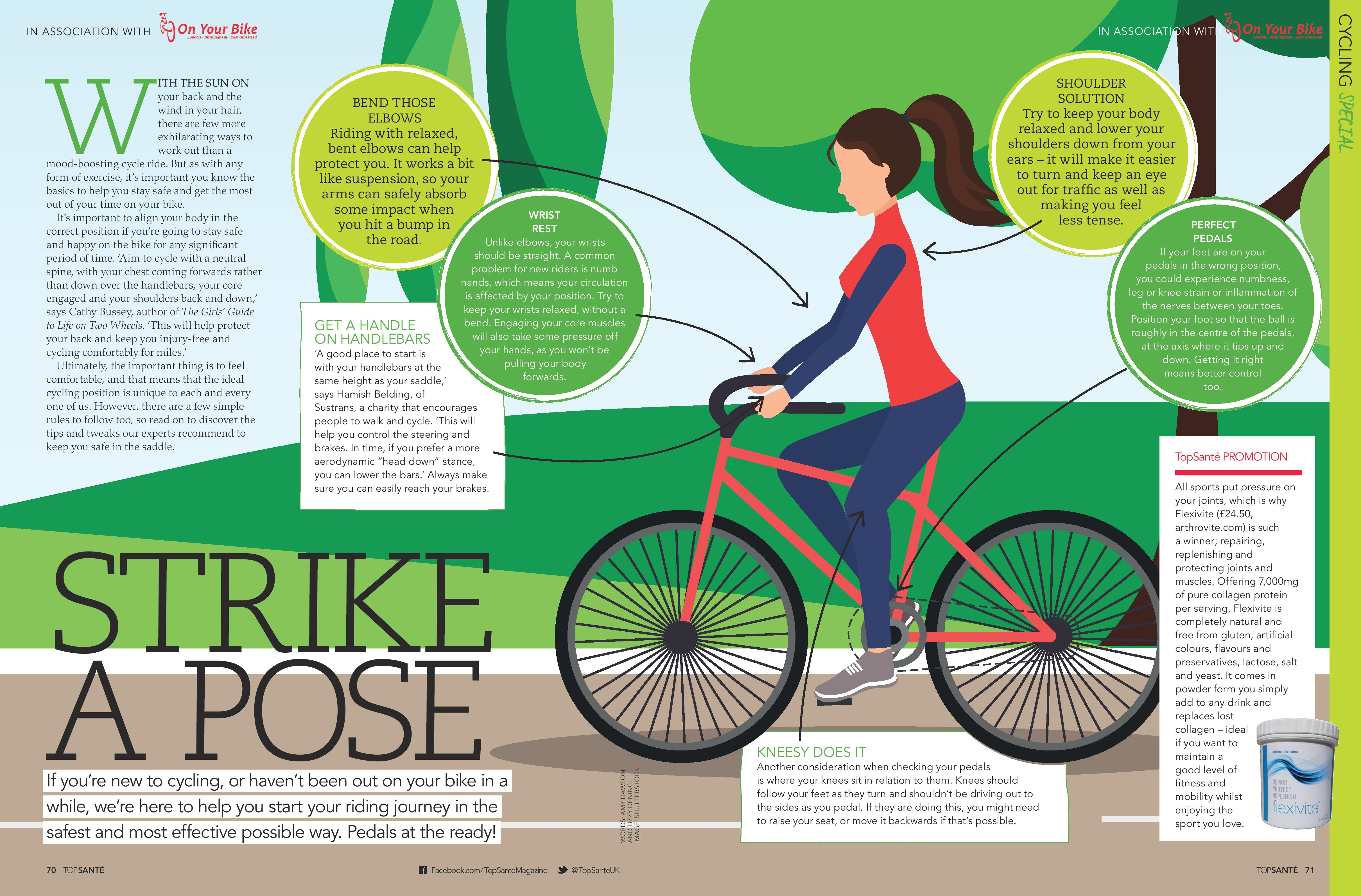 On Your Bike: Cycling Posture (Top Sante Cycling Special, Jun 2018)